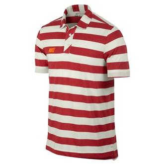 Nike Mens Sport Vintage Stripe Polo Shirt