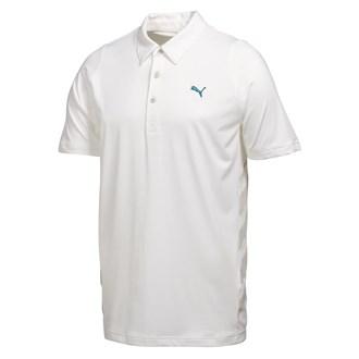 Puma Golf Mens Duo-Swing Mesh Polo Shirt