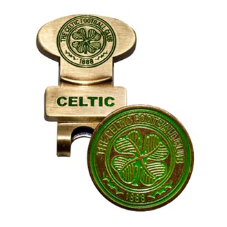 Celtic Golf Hat Clip With Ball Marker