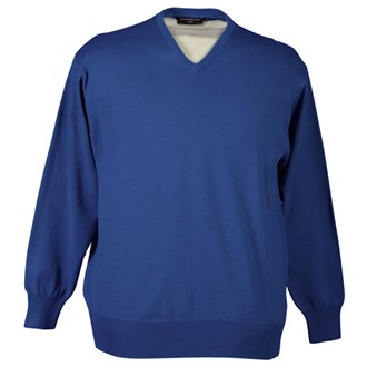 Glenmuir Mens Eden Cotton V-neck Sweater 2012