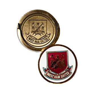 West Ham Golf Hat Clip With Ball Marker
