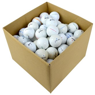 Srixon Mixed Grade C Lake Balls (100 Balls)