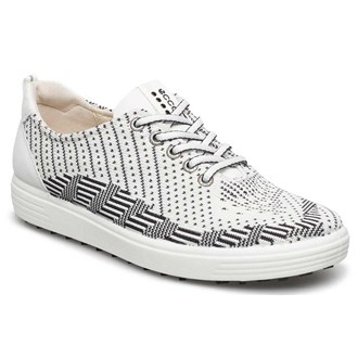 Ecco ladies knitted casual hybrid shoes