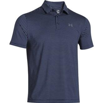Under armour mens playoff heather stripe polo shirt