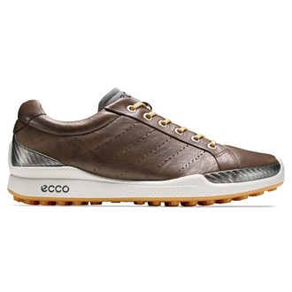 Ecco mens biom hybrid hydromax shoes (cocoa brown/fanta)