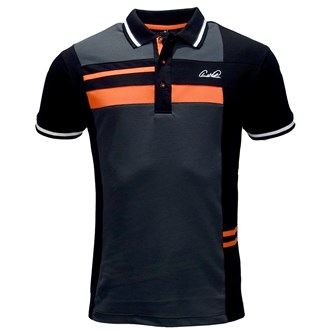 Arnold palmer mens fashion signature polo shirt van kantoor artikelen tip.