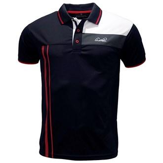 Arnold palmer mens fashion side stripe polo shirt van kantoor artikelen tip.