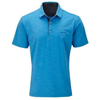 Aston Martin Collection Mens 3 Tone Slub Polo Shirt 2014