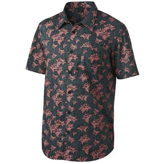 Oakley Mens Breakwall Short Sleeve Woven Shirt