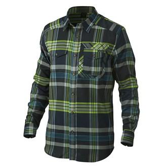 Oakley Mens Altitude Long Sleeve Flannel Shirt