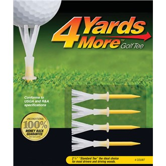 4 yards more tees