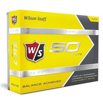 Wilson staff fifty elite yellow ball (12 balls) van kantoor artikelen tip.