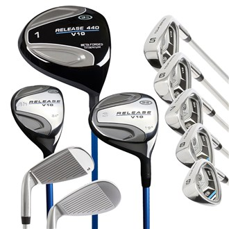 US Kids Tour Series 54 Inch 10Club Golf Combo Set ALL GRAPHITE