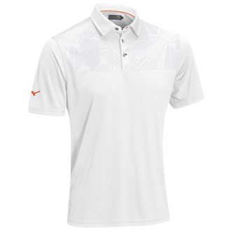 Mizuno Mens Panel Hazard Polo Shirt