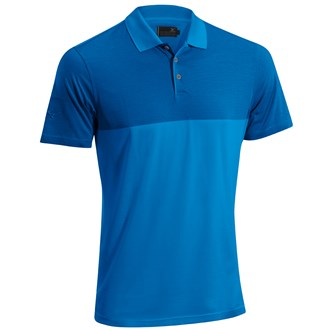 Mizuno Mens Mini Stripe Cotton Polo Shirt