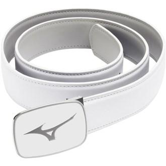 Mizuno plain leather belt van kantoor artikelen tip.