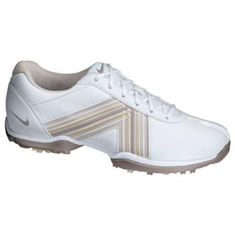 Nike ladies delight iv shoes (white/mauve)