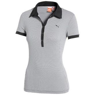 Puma Golf Ladies D2 Pattern Printed Polo Shirt