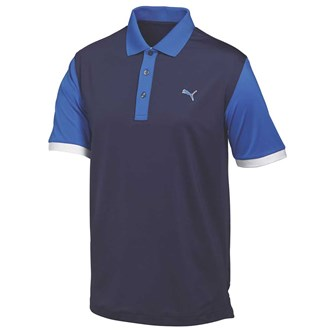 Puma mens colourblock polo shirt 2015