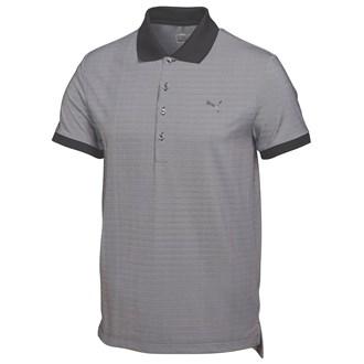 Puma mens lux micro stripe polo shirt 2015