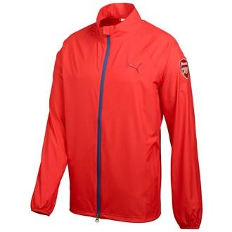 Puma Mens Full Zip Limited Edition Arsenal Wind Jacket