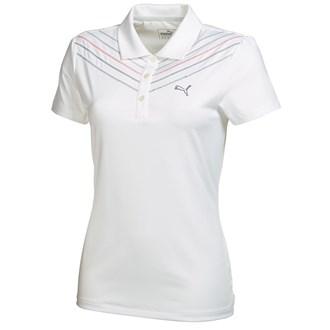 Puma ladies chevron polo shirt