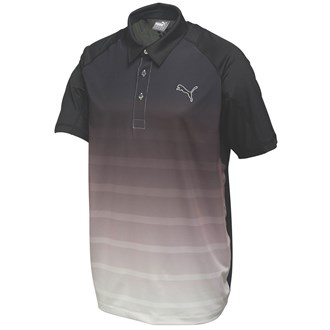 Puma Golf Mens Titan Stripe Polo Shirt