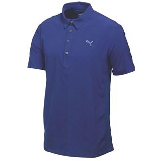 Puma mens sport woven polo shirt