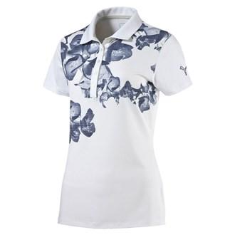 Puma ladies bloom polo shirt