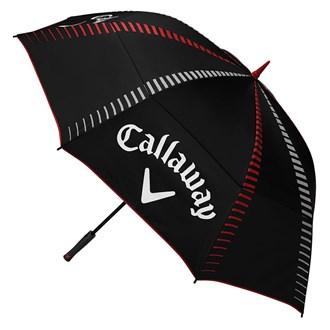 Callaway tour authentic 68 inch auto open double canopy umbrella