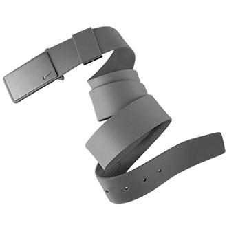 Nike mens sleek plaque belt