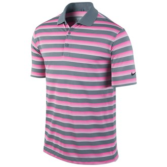 Nike mens tech vent stripe polo shirt