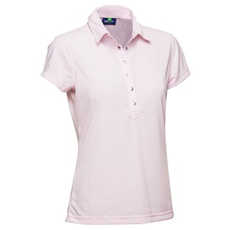 Daily sports ladies malou cap sleeve polo shirt