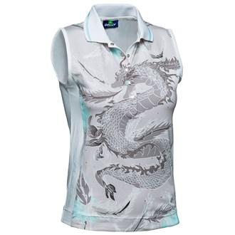 Daily sports ladies adelle sleeveless polo shirt