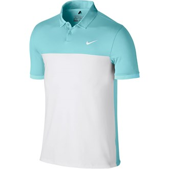Nike mens icon colour block polo shirt