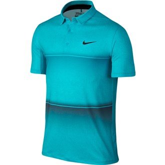 Nike mens mobility stripe polo shirt