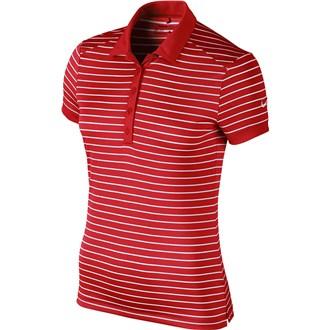 Nike ladies victory stripe polo shirt