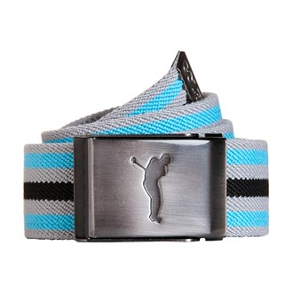 Golfino striped stretch belt
