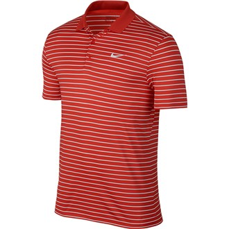 Nike mens victory mini stripe polo shirt (logo on chest) van kantoor artikelen tip.