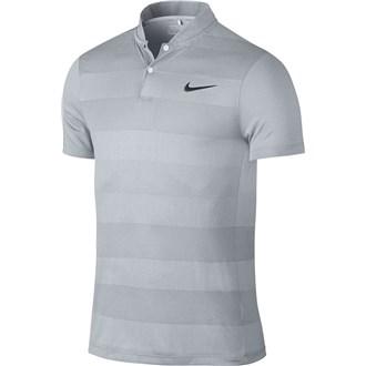 Nike mens mm fly blade stripe polo shirt