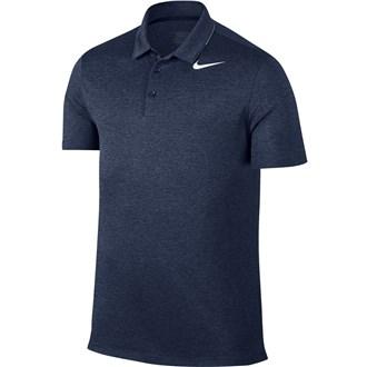 Nike mens breathe heather polo shirt
