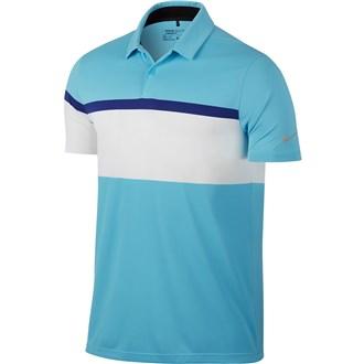Nike mens mobility colour block polo shirt