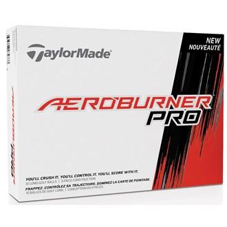 taylormade aeroburner pro balls (12 balls)
