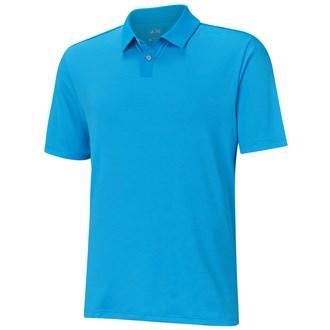 Adidas mens uv elements tonal stripe polo shirt