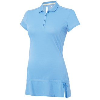 Adidas ladies advance pique short sleeve polo