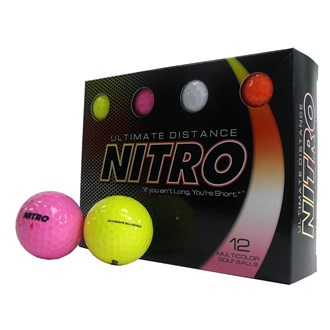 nitro ultimate distance mixed balls (12 balls)
