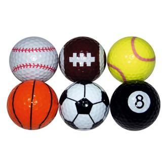 novelty sports balls (6 balls)