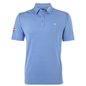 Callaway mens stretch solid polo shirt