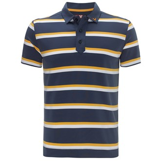 Callaway mens x range bold stripe polo shirt