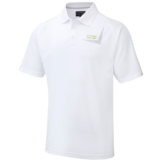 Cypress point mens coolpass solid polo shirt
